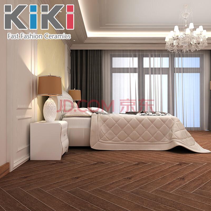 kiki瓷砖 木纹砖120*1200仿实木地板砖卧室木纹地砖仿古砖防滑 e