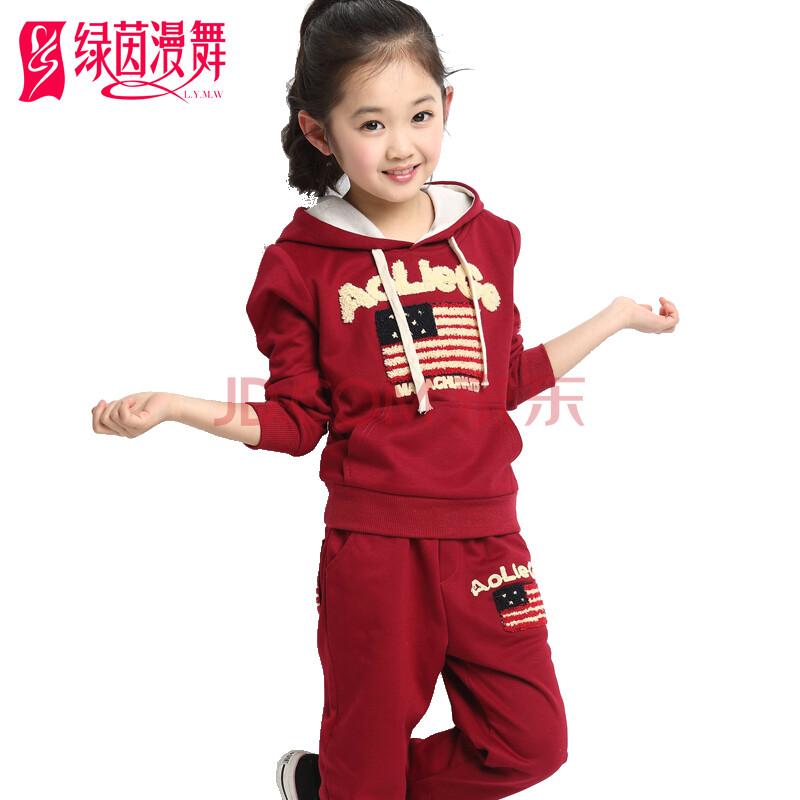 秋季男童运动套装中大儿童连帽长袖卫衣裤子套装预售
