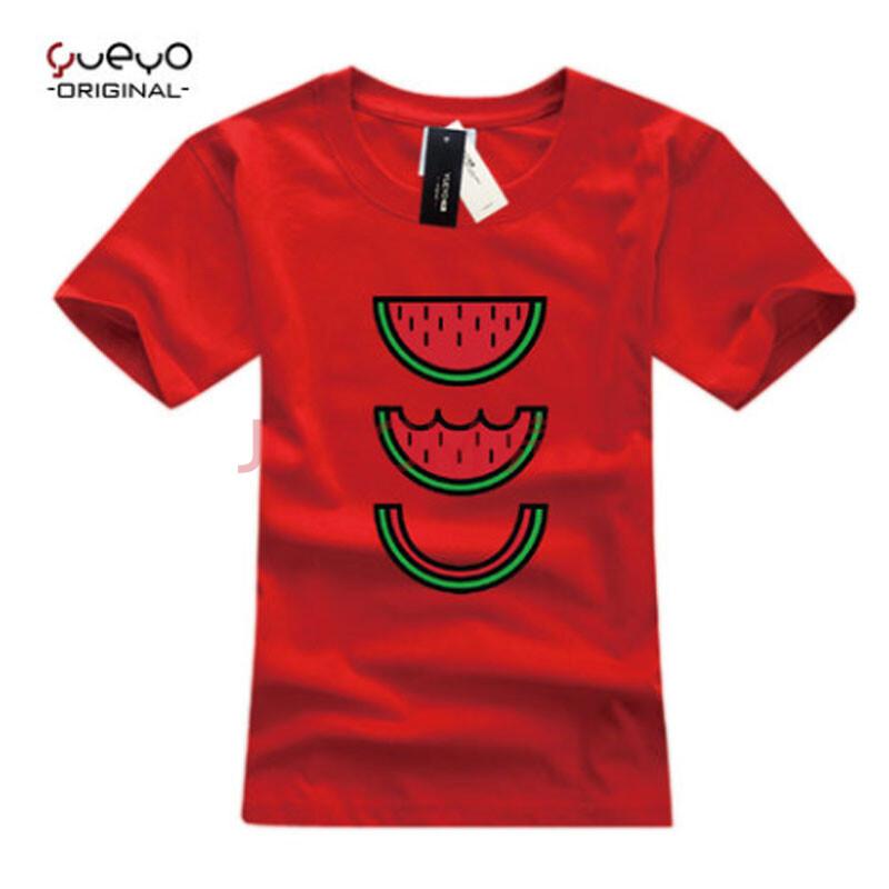 手绘t恤创意图案 简单水果