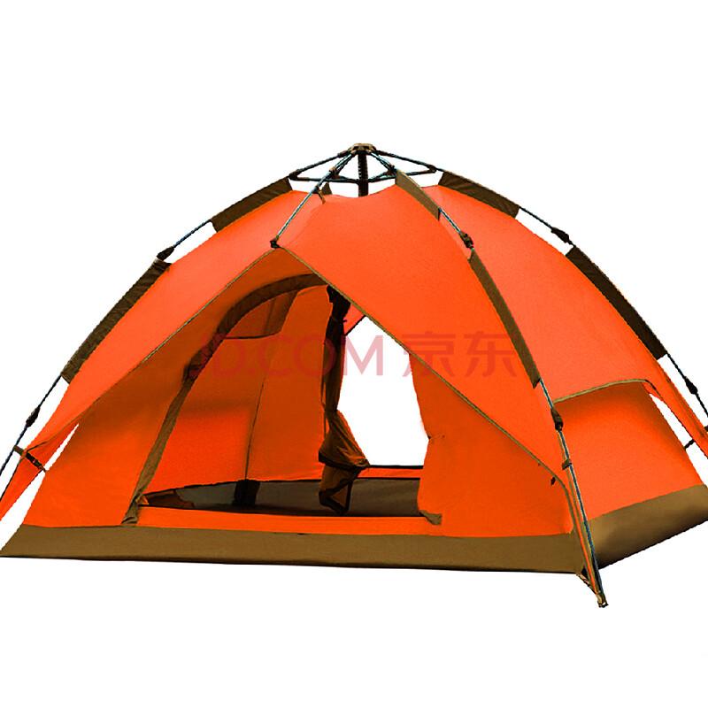 玛丁图(mountaintop)户外双人双层露营速开防暴雨3-4人野营自动帐篷