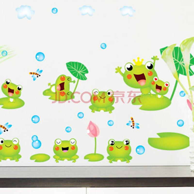 儿童房幼儿园墙贴纸卫生间瓷砖装饰贴画