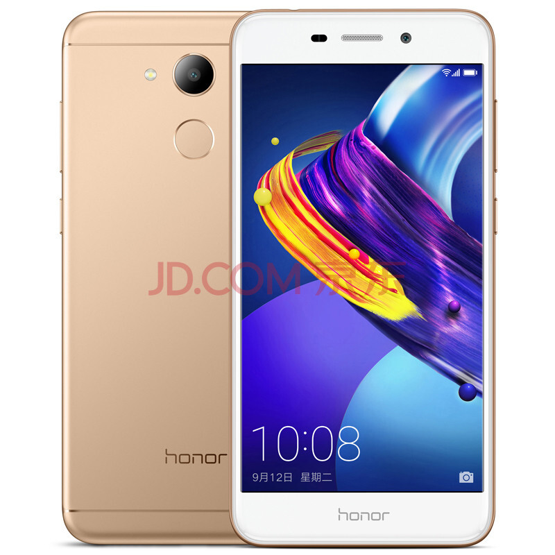 华为(HUAWEI) 荣耀 V9 play 手机 伯光金 3G+32GB【全网通】