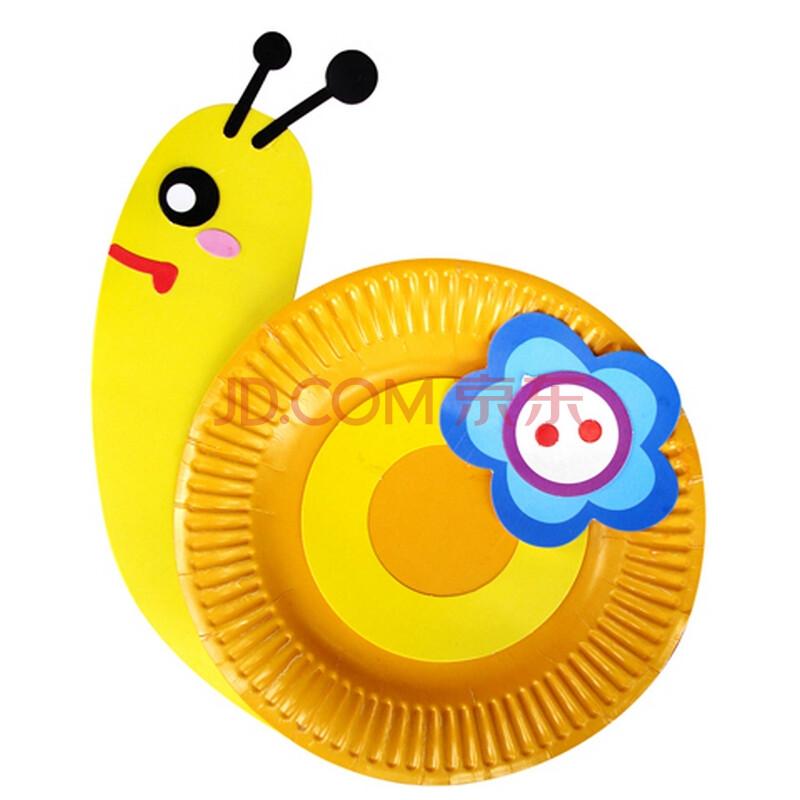 蜗牛手绘彩色