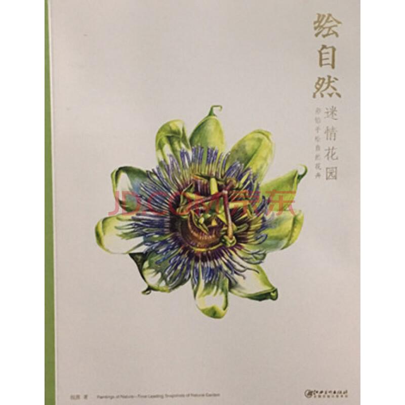 商城正版 绘自然 花园 彩铅手绘自然花卉 钱茜