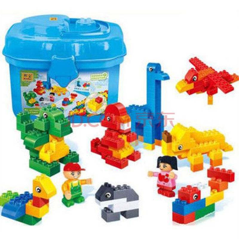 邦宝【大积木】幼儿园爆裂玩具v积木飞车动物园6505函询报王益智玩具颗粒图片