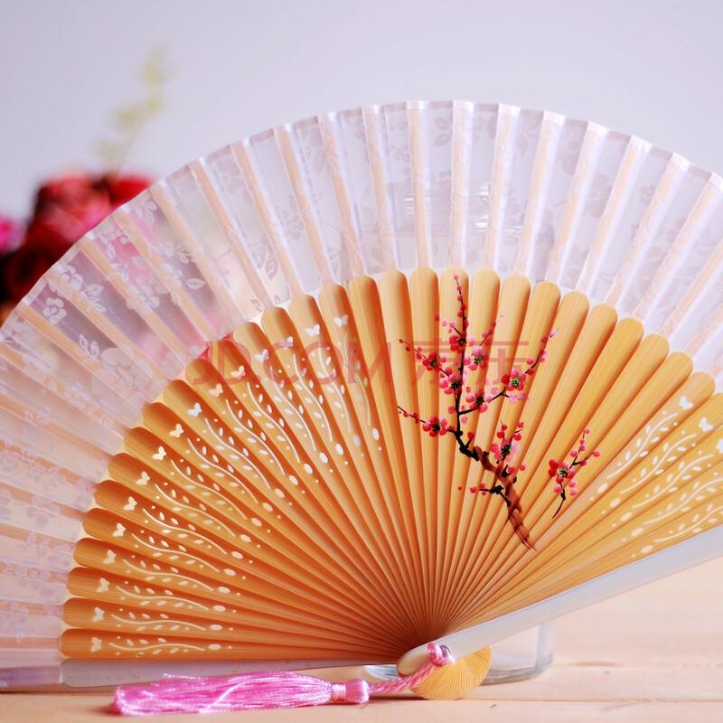 日本和蕙堂 樱花扇骨冲花工艺