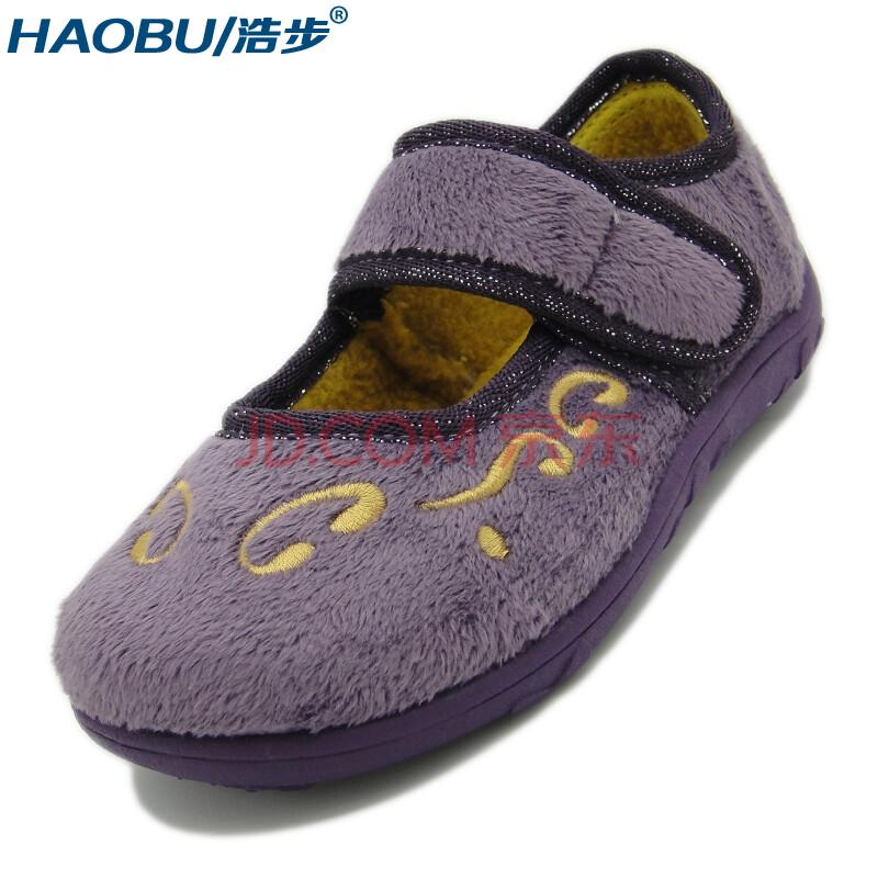 浩步 春秋儿童鞋夏女童公主鞋 魔术贴搭扣软底防滑可爱小童宝宝鞋跳舞
