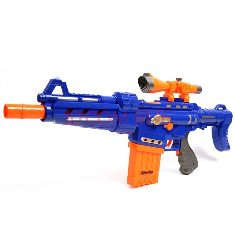 儿童玩具电动软弹枪 玩具枪可发射子弹连发