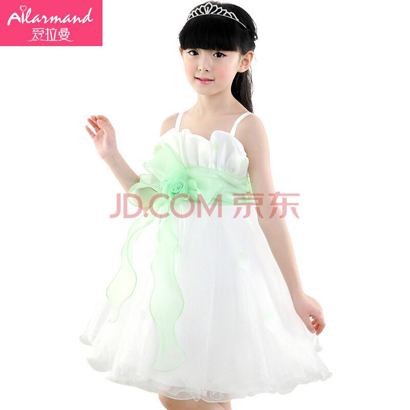 儿童公主裙婚纱