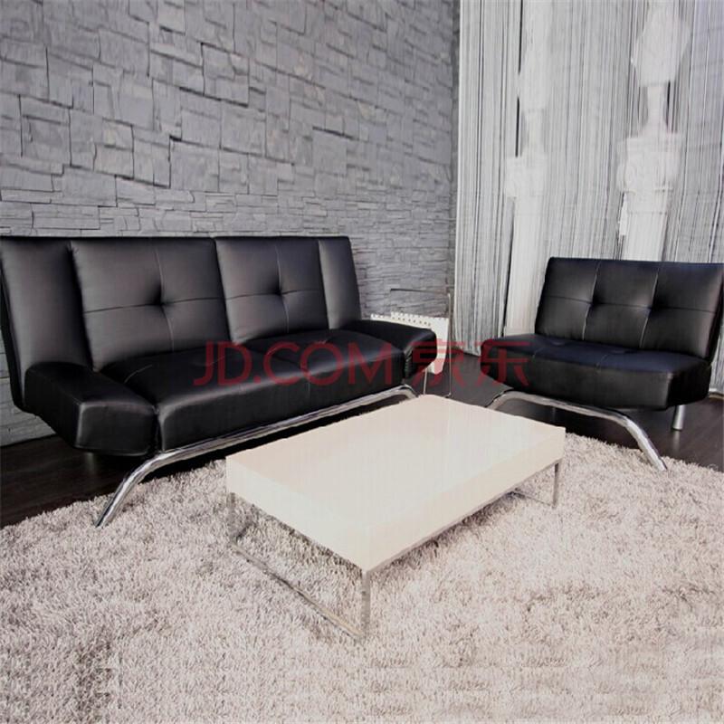 DHP环保家具多功折叠家具床北欧皮艺沙发色卡沙发定制图片