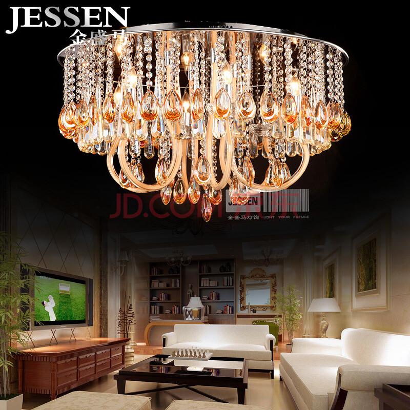 欧式客厅卧室吸顶灯