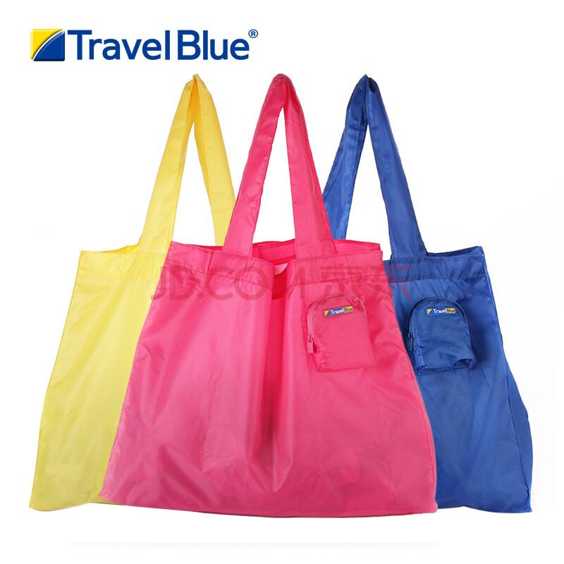 英国travellue/蓝旅旅行折叠袋可折叠购物袋