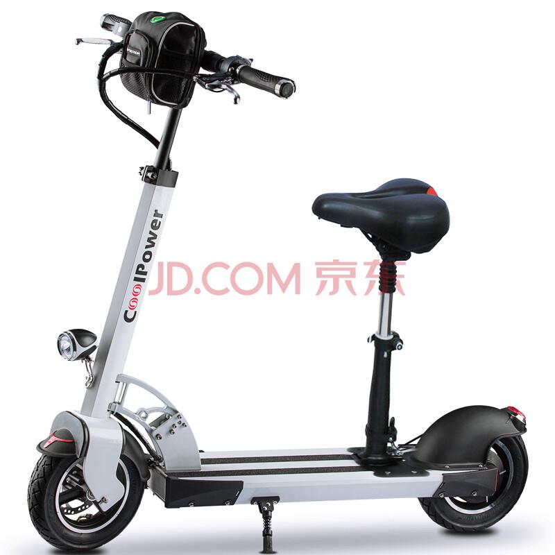 0锂电车10寸电动滑板车成人电动车二轮车图片