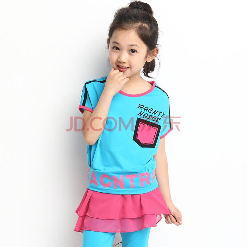 儿童运动套装短袖