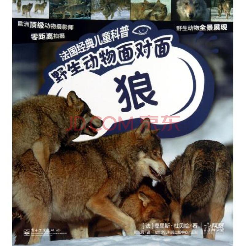 野生动物面对面(狼)/法国经典儿童科普