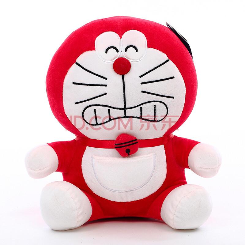 彩虹哆啦a梦玩偶 机器猫公仔