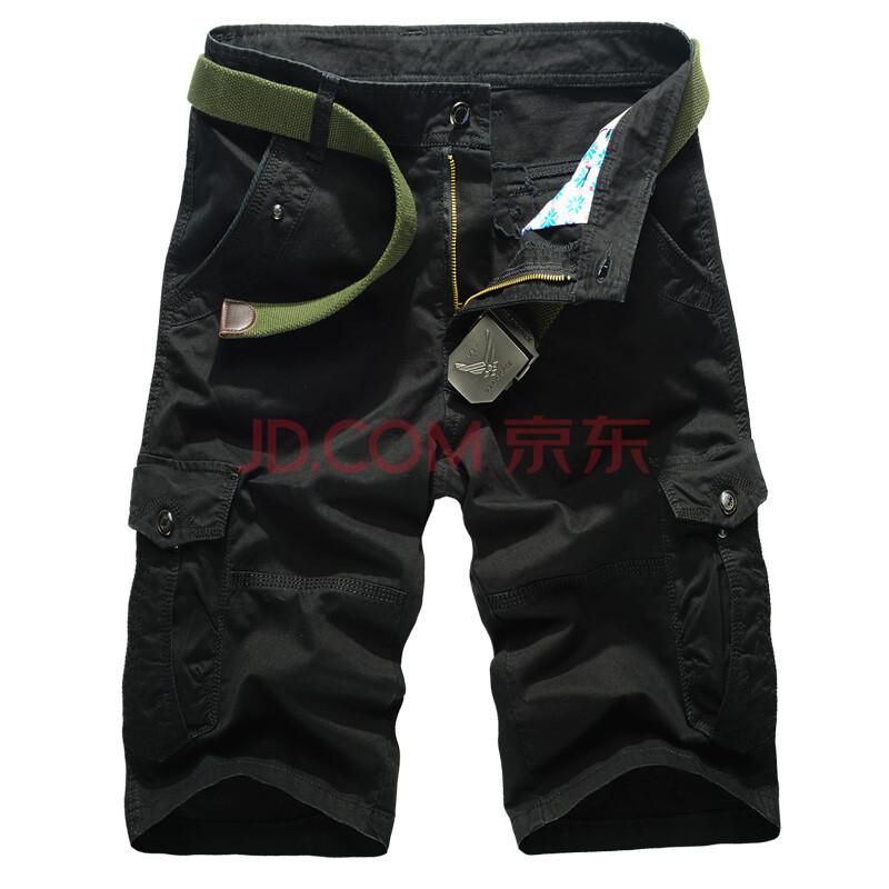 宽松短裤男工装中裤