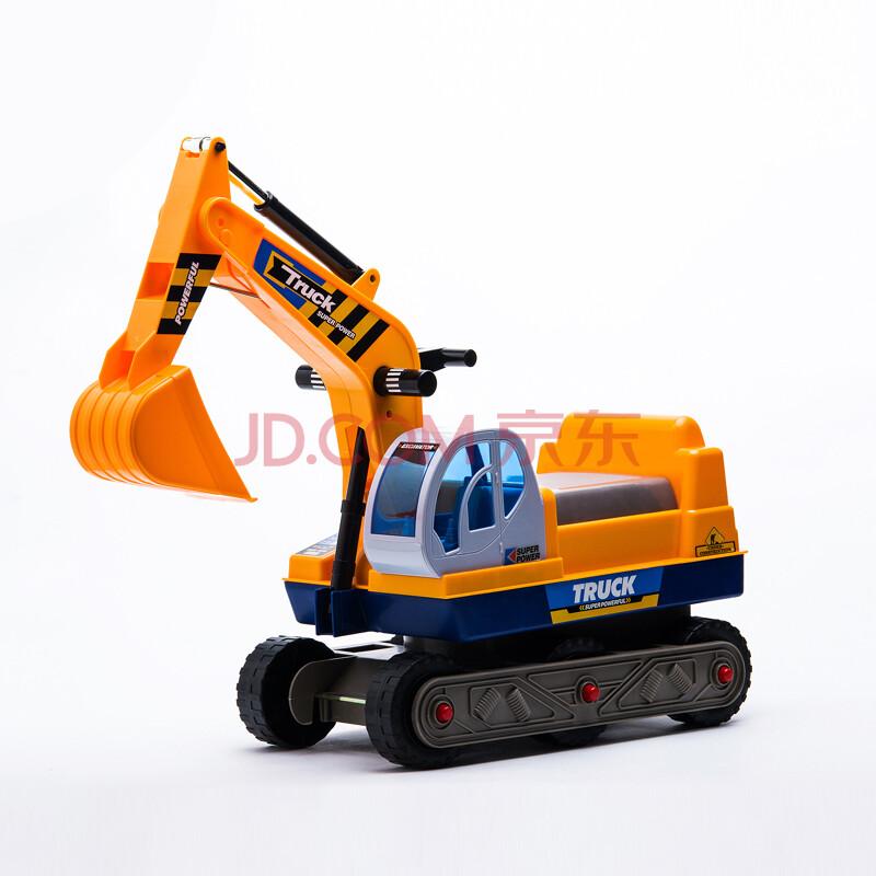 儿童玩具车挖土机可坐可骑