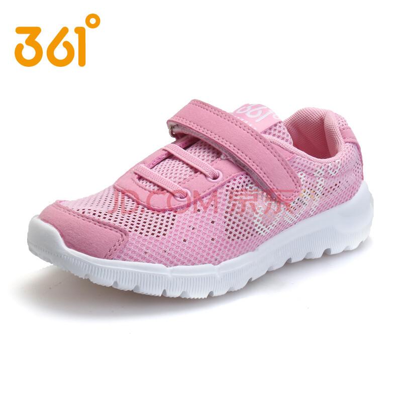 361童鞋 女童运动鞋2014新款秋季透气全网面儿童凉鞋