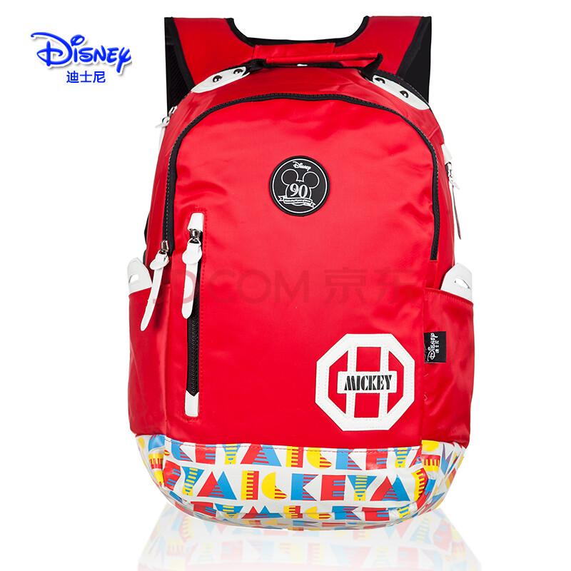 新款正品迪士尼米奇书包中学生书包双肩包小学生休闲背包男生女款 sm图片