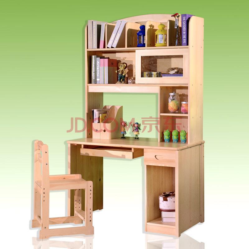 儿童书桌转角书柜桌