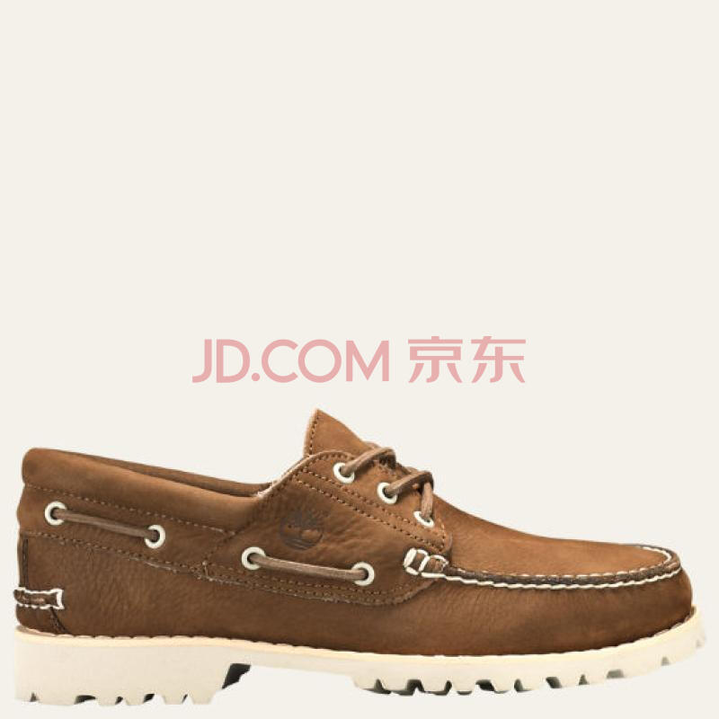 全球购                                    Timberland/添柏岚男鞋低帮休闲鞋船鞋A1QVW218 Brown Full-Grain 7.5 Medium