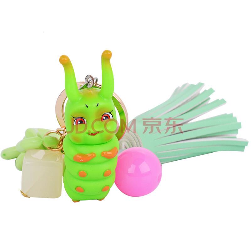 巨头可爱花千骨糖宝钥匙扣汽车钥匙圈创意包包挂件礼品 灵虫带配饰