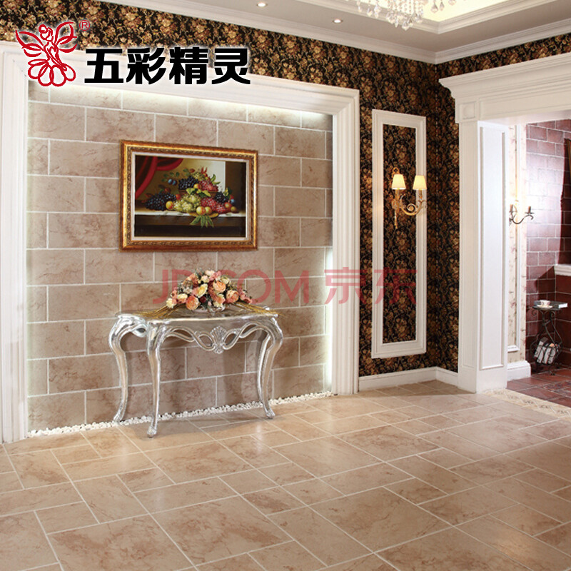 古堡系列 欧式 美式 简约 地板砖卧室客厅阳台瓷砖 复古地砖瓷砖 四种图片