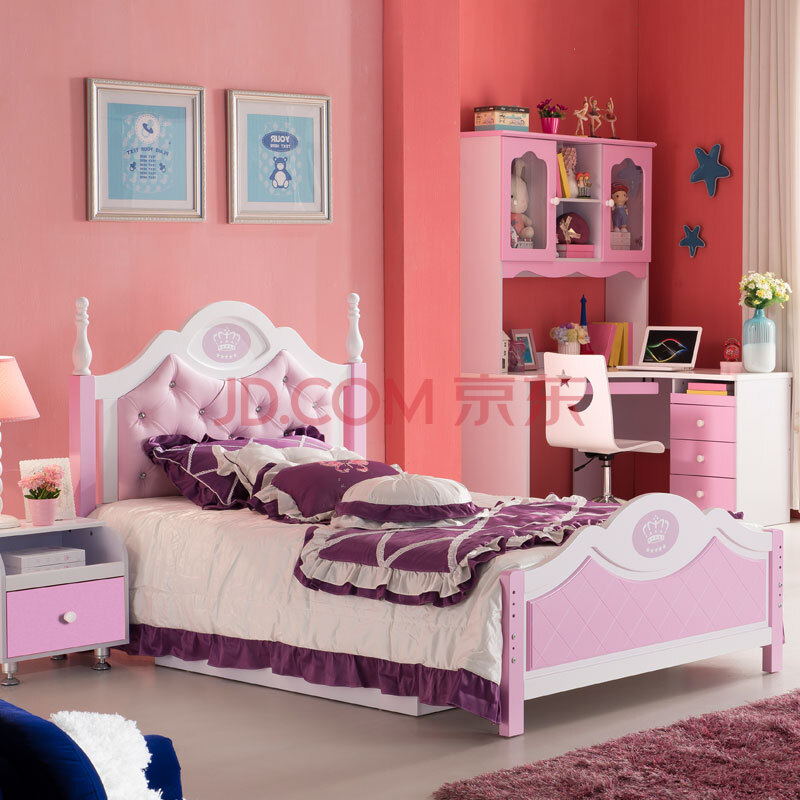 儿童家具青少年家具可爱粉色