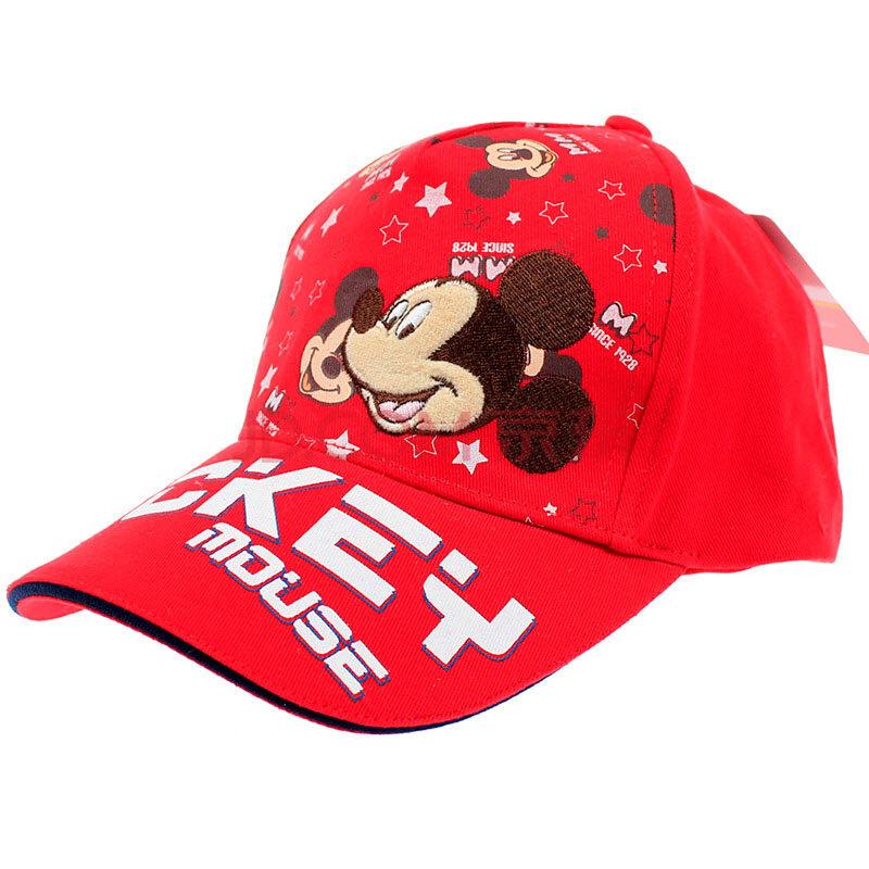迪士尼disney米奇儿童帽子男童出游遮阳帽宝宝太阳帽大檐鸭舌帽 sm