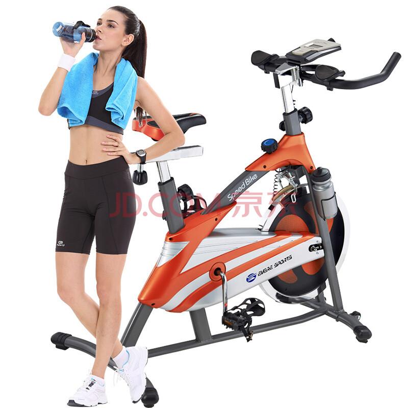 艾威竞赛车健身自行车BC4170 橙红色图片