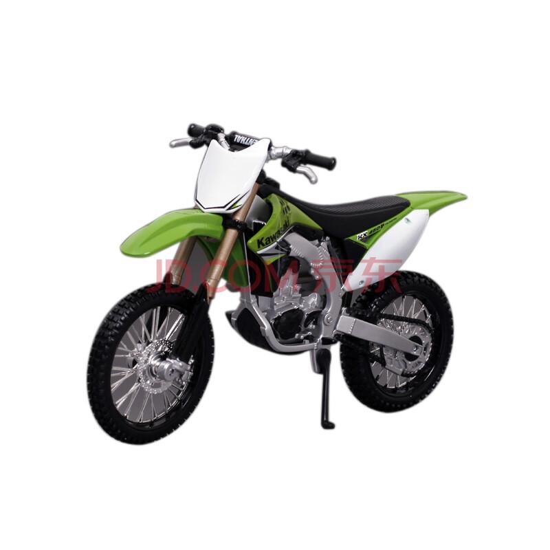 美驰图maisto1:12川崎kx 450f越野车仿真摩托车模型玩具车