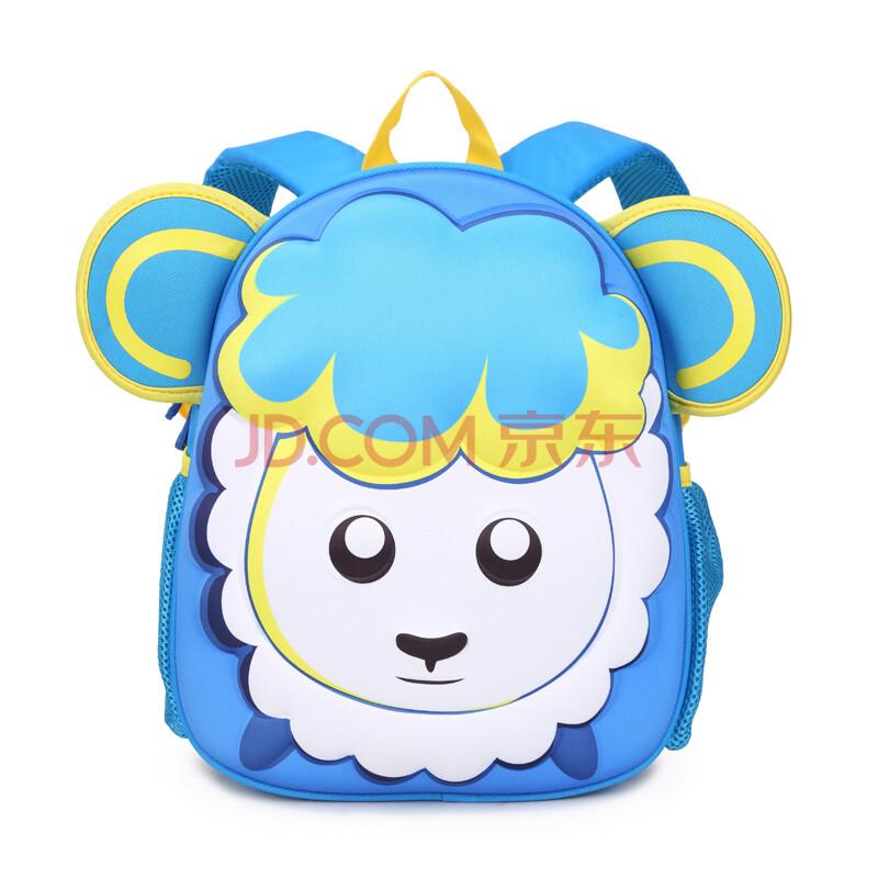 动物卡通儿童书包男童女童宝宝幼儿园书包双肩包3-6岁
