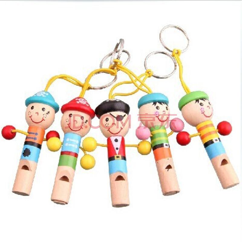 小动物 卡通人物口哨 木制音乐玩具哨子 益智儿童玩具