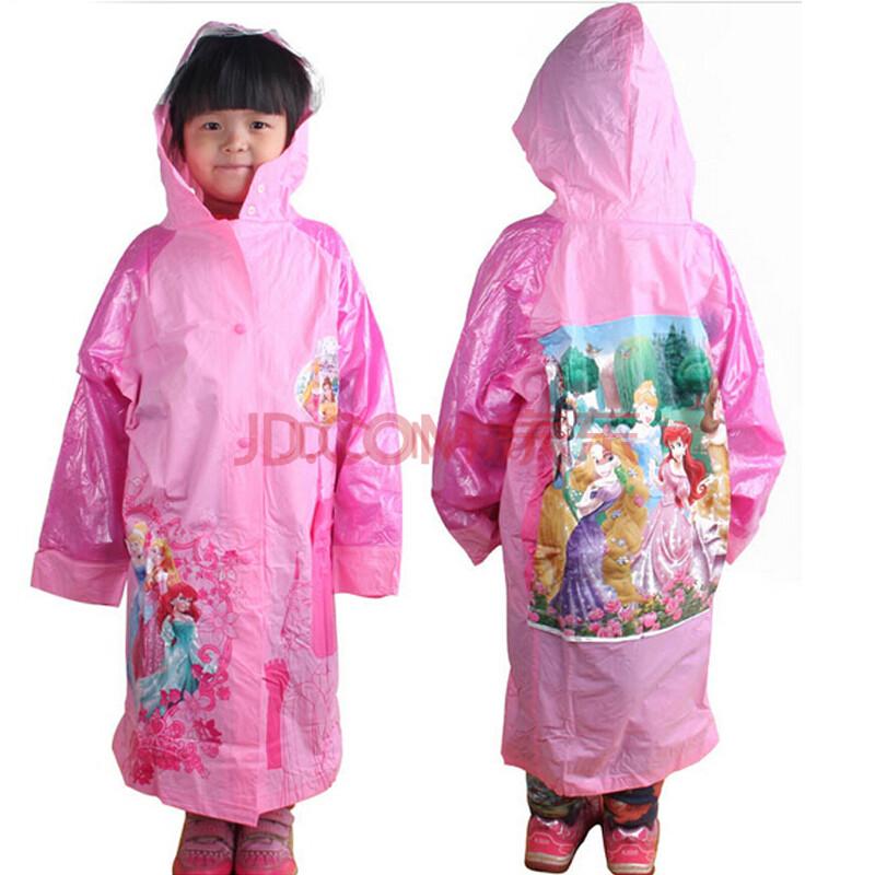 迪士尼儿童雨衣宝宝雨披