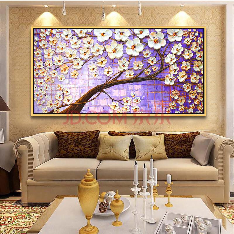 idiqi现代欧式时尚艺术油画客厅背景墙抽象画 (800x800)-欧式客厅