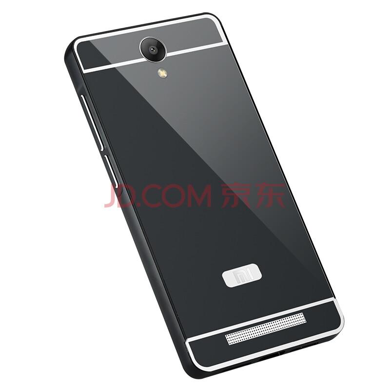 gkk 手机壳金属边框外壳保护套 适用于红米note2 红米