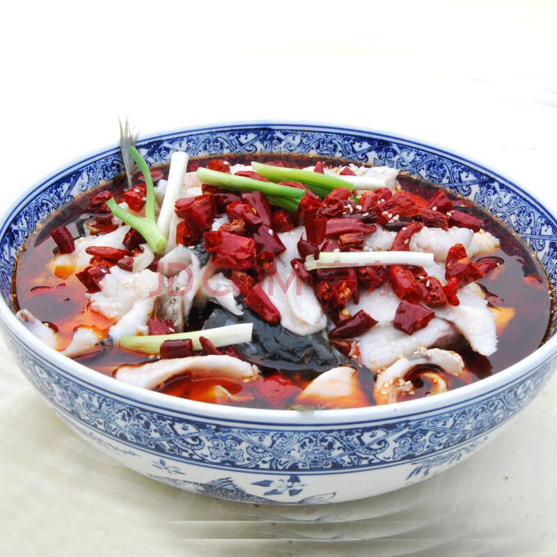 重庆桥头飘香水煮鱼200gX3袋 鲜香麻辣鱼火锅