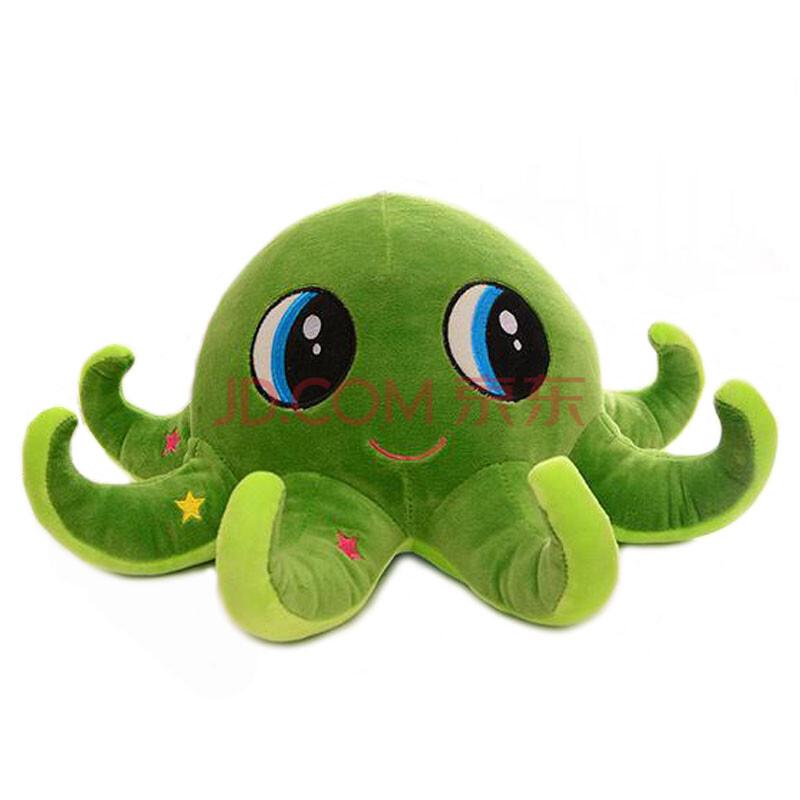 可爱卡通大眼睛章鱼毛绒玩具公仔儿童玩偶布娃娃车载