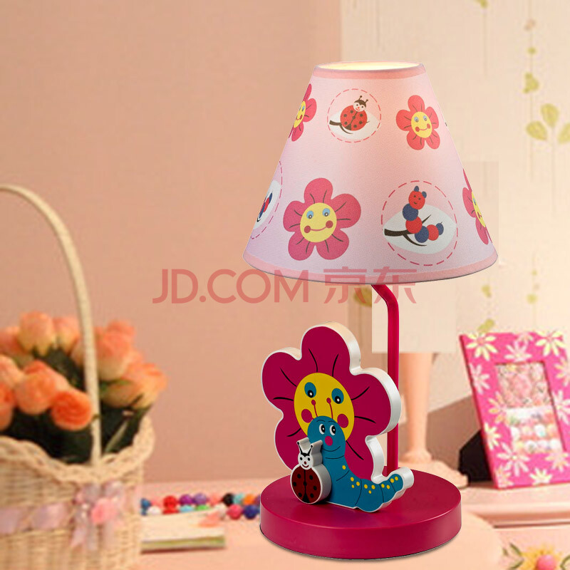 简约现代可爱卡通儿童卧室灯具台灯