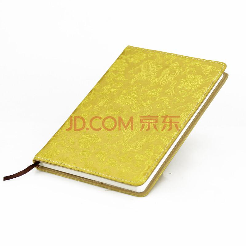 唐贝 高档丝绸画笔记本 中国风丝绸笔记本 锦缎面记事