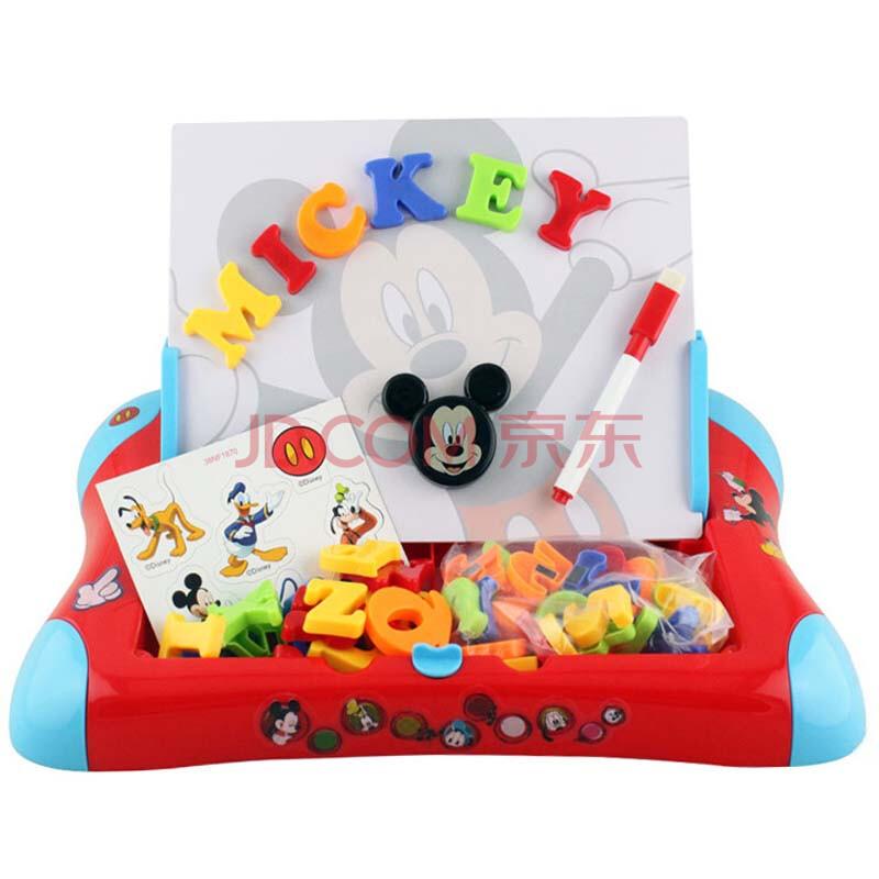 迪士尼磁性画板/画架儿童画板绘画工具米奇米妮公主