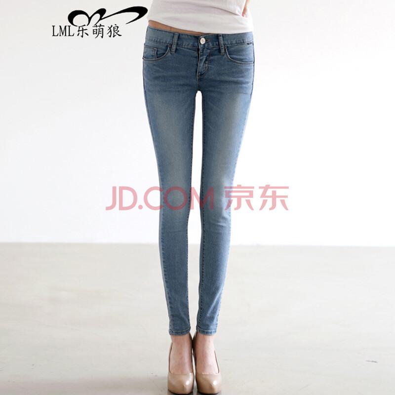 裤子女2014小脚裤