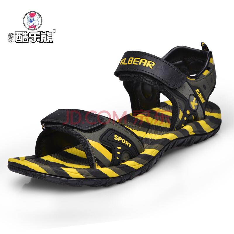超级酷乐熊童鞋男童凉鞋2014夏季新款儿童透气青少年