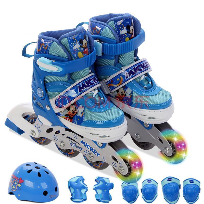 儿童溜冰鞋套装 男女旱冰鞋