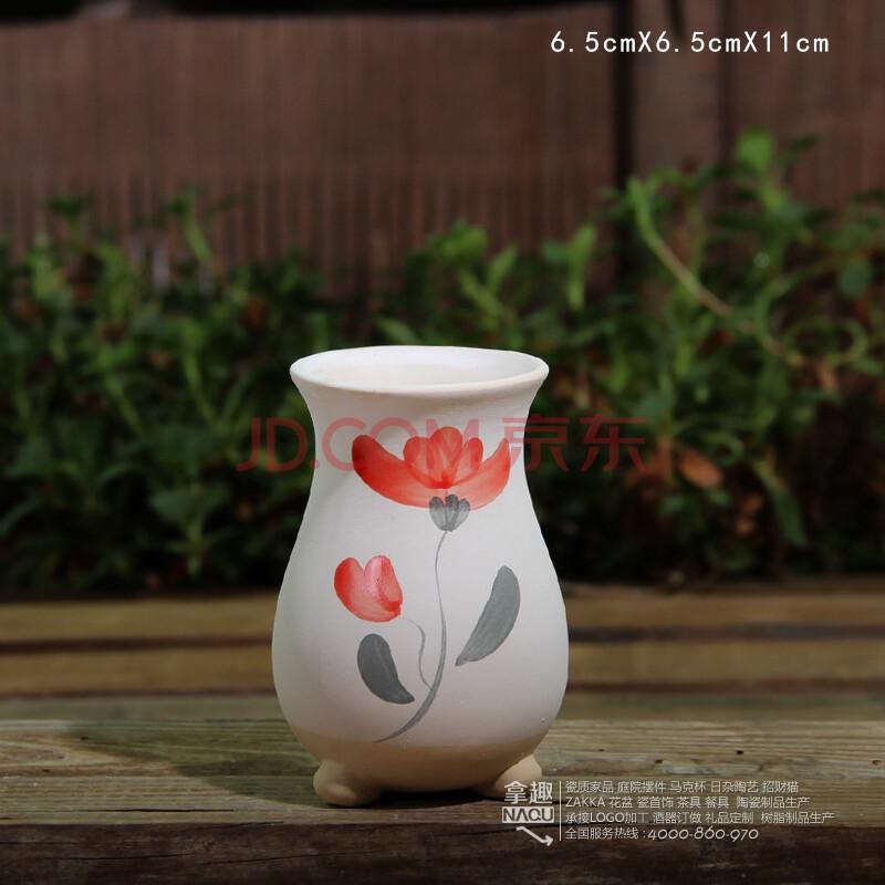 00 韩国手绘立体 老桩 多肉植物花瓶 手工桌面 肉肉陶瓷花盆 园艺摆饰