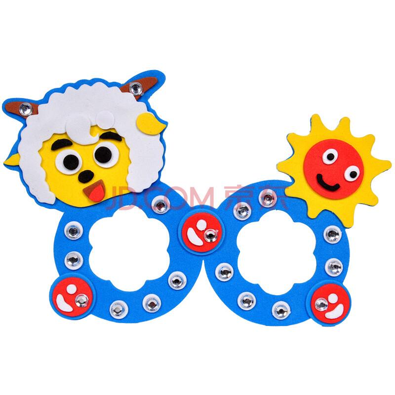多多鹿儿童手工eav贴画diy制作益智玩具