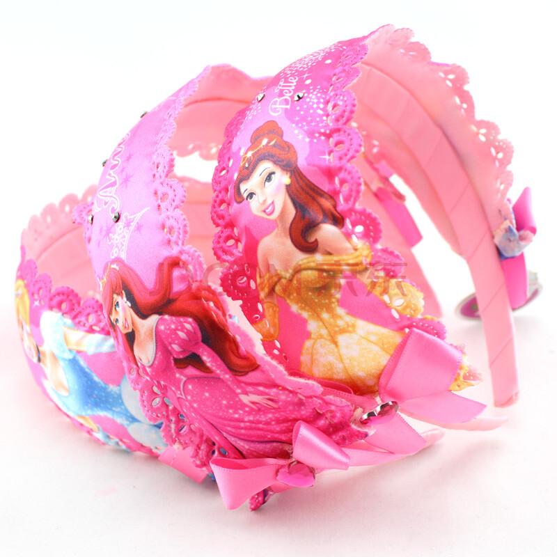 特价迪士尼儿童发箍 甜美可爱公主头扣宝宝头饰韩版宽
