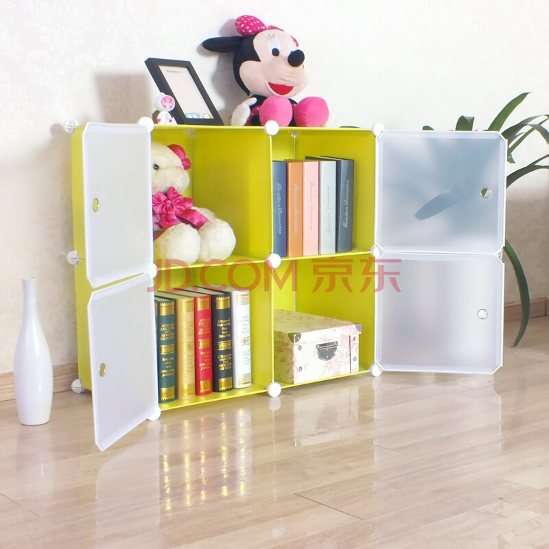 新艺鸿运儿童书柜桌上书架书橱小柜子创意家具玩具