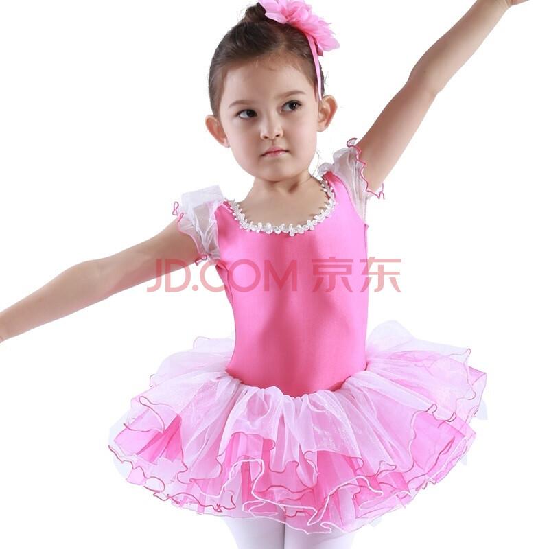 夏款儿童舞蹈服装六一女童女孩演出服芭蕾舞裙合唱服表演无袖春夏季